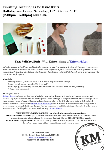 That Polished Knit_Be Inspired Fibres flyer copy